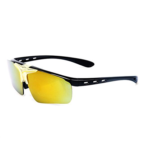 Z-P colorful flip sunglasses sports cool running unisex outdoor riding sports glasses 72mm