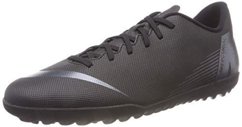 Nike Vapor 12 Club TF, Chaussures de Fitness Mixte Adulte, Noir (Black 001), 46 EU