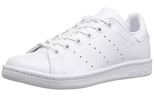 Adidas Performance Kids Stan Smith J Tennis Shoe White White White Size 5 Big Kid -