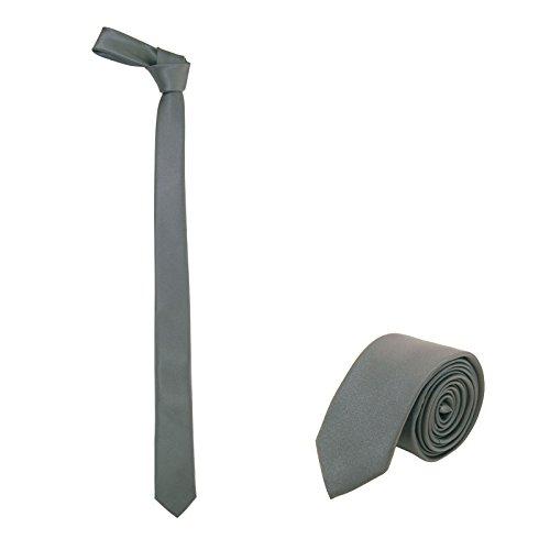 Jnjstella -  cravatta - uomo grigio scuro taglia unica