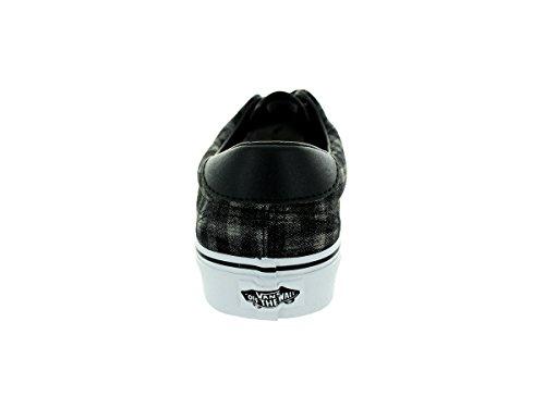 Vans U ERA 59 (CANVAS  CHAMB, Sneaker unisex adulto Black White