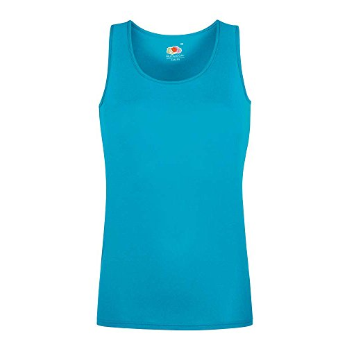 Fruit of the Loom -  Polo  - Donna Azure Blue
