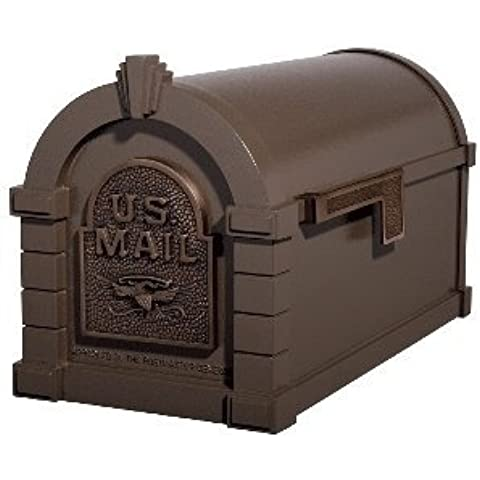 Gaines Original Series Keystone Mailbox In Bronze/Antique Bronze by (Gaines Mailbox)
