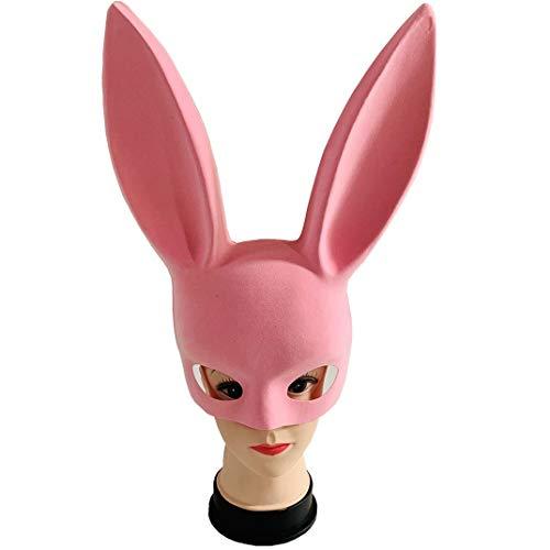 Pink Kind Kostüm Schwarz Hexe Leuchten Und - LRJGXY Halloween Party Hexe Hasenohren Maske Stirnbänder für Halloween Kostüm Party Party Perfekt für Karneval & Masquerade Ball