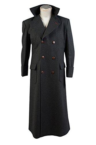 Sherlock Holmes Cape Coat Cosplay Kostum - Wolle (Sherlock Holmes Kostüm Kind)