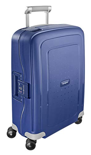Samsonite S\'Cure Spinner 55/20 Koffer, 55cm, 34 L, Dark Blue