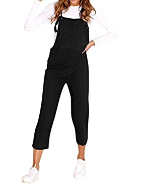 Ansenesna Monos Mujer Verano Fiesta Elegantes Correa Espagueti Piernas Anchas Bodycon Pantalones Jumpsuit Clubwear...