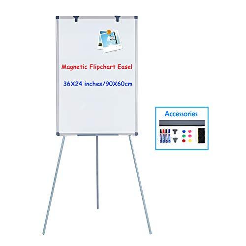 Makello Tableau blanc magnétique avec support #3 900X600mm