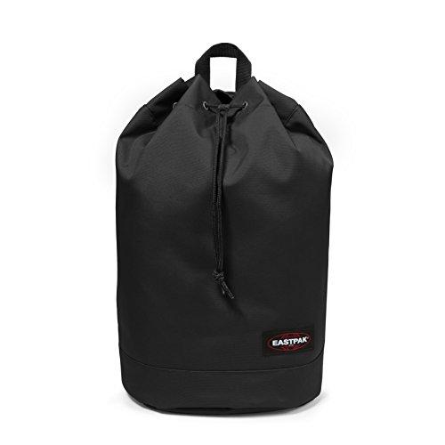 Eastpak Rober Black Poliéster Negro mochila - Mochila para portátiles y netbooks (Poliéster, Negro, Bolsillo lateral, Cordón, Cremallera, 250 mm, 175 mm)