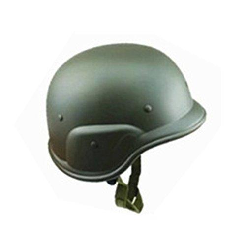 SDYDAY CS Feldhelm, M88 Kunststoff Camouflage Helm Motorradhelm für Militär Kostüm Airsoft Paintball, Armee-grün