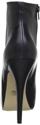 Buffalo London - 412-1144 Silk Leather, Stivali bassi con imbottitura leggera Donna Nero (nero (black 01))