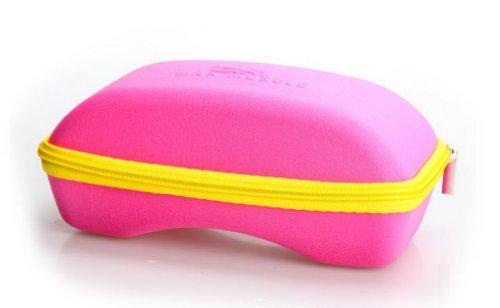 Large Goggle Case Solid Zipper rosa Box Kids Brille Box