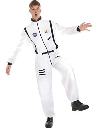 (Astronaut Herrenkostüm in Weiß Standard)