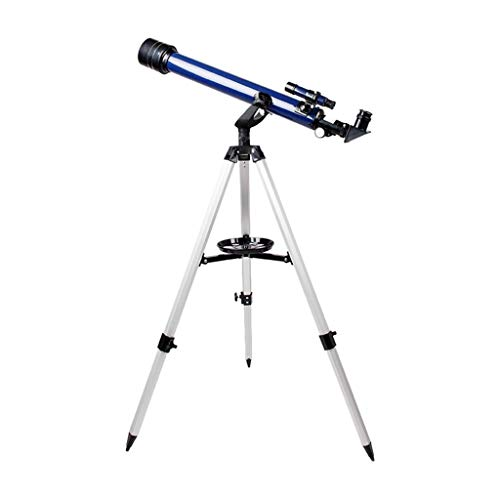 RUI - K25 Telescopio astronómico Espacial, 700 mm / 60 mm Telescopios reflectores 525X HD Telescopios monoculares con trípode 3 Oculares for Mirar Las Estrellas del Cielo