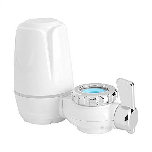 Filtro de Agua de Grifo Purificador de Filtro de Agua Montaje de Grifo para Cocina Hogar con Base de Cerámica Lavable
