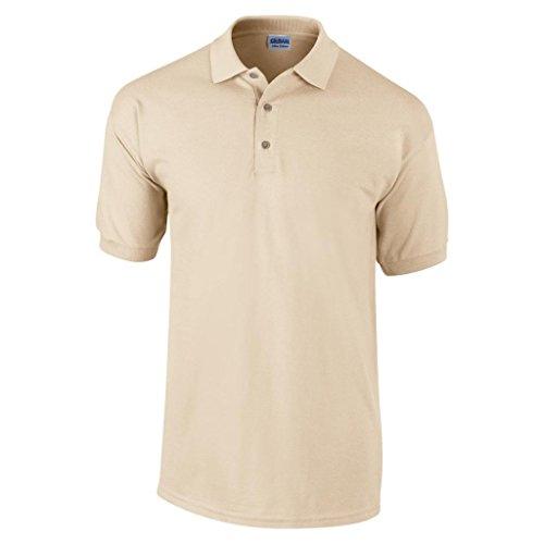 MAKZ Herren Poloshirt Gelb - Sand