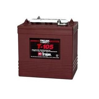Trojan T-105 6V 225Ah Tiefentladung Batterie / Traktionsbatterie / Antrieb.