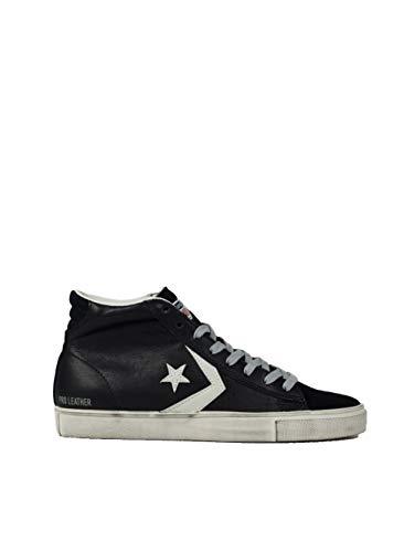 Converse Unisex-Erwachsene Lifestyle Pro Leather Vulc Distressed Mid  Sneakers Mehrfarbig (Black Turtledove 4dc1f05e0