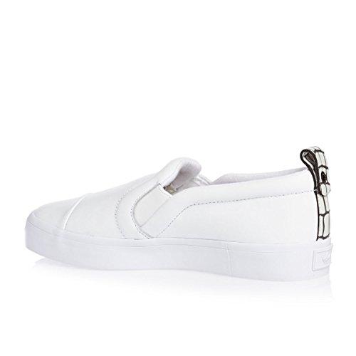 adidas Originals Honey 2.0 Slip On Schuhe Damen Sneaker Slipper Weiß S81364 Weiß