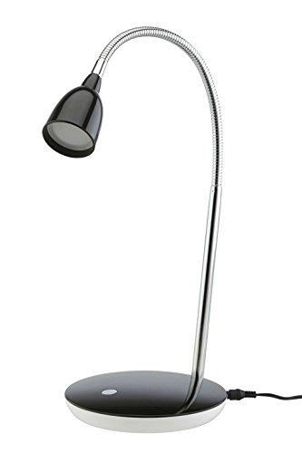 Trango tg7458-015LED lampada da scrivania Lampada da tavolo lampada da lavoro 6000K con alimentatore di rete ideale per cosmetici Nail Design Studio Studio