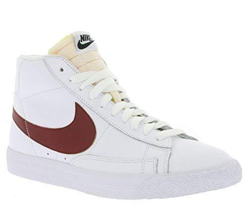 Nike Men's Force Zoom Trout 5 Pro Metal Baseball Cleat White/Black/Pure Platinum Size 10 M US -