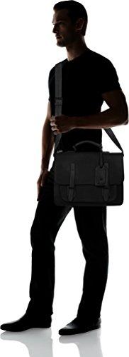 Aldo - Eddies, Borse per PC portatili Uomo Nero (Black Leather)