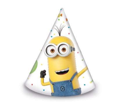 Minions Party 6 Hüte (Mütze Minion Hut)