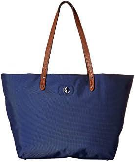Ralph Lauren - Bolso de tela para mujer azul pacific blue