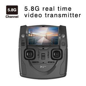 Hubsan H501S X4 Brushless FPV GPS Quadrocopter 5.8 Ghz Drohne mit 1080P Full HD Kamera und Follow-Me Modus RTH-Funktion Weiß&Gold - 7