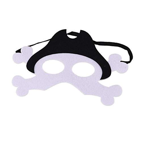 (Sanzhileg Halloween Maske Halloween Maske Halloween Kostüm Kostüme - Pirat)