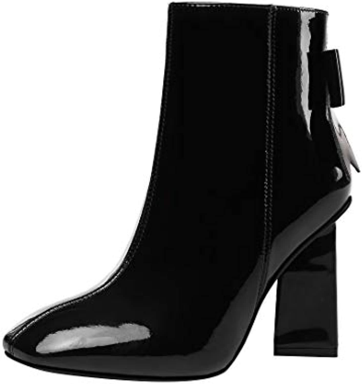 MAYPIE Donna Toarmy    Leather Cerniera Tacco a Blocco Stivali | Del Nuovo Di Arrivo  | Uomo/Donne Scarpa  7d3fdc