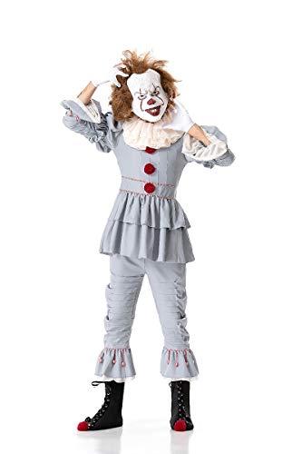XSQR Halloween Karneval Cosplay Vampir Komplettset Weiblicher Terror Clown Zurückkehrende Seele - Halloween-kostüme Clown Weiblich