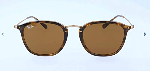 Ray-Ban Unisex-Erwachsene Sonnenbrille Rb 2448n, Light Havana/Brown, 51