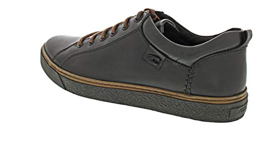 camel active Herren Cricket 12 Sneaker, Grau (Dk.Grey 4), 42 EU (8 UK)