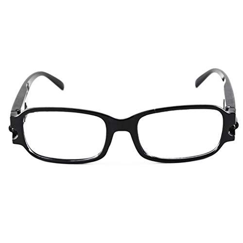 Junecat Multi Kraft-Licht-Nachtsicht-Lesebrillen-Quadrat-Rahmen Presbyopie Dioptrienbrill