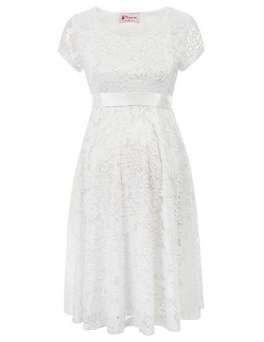 Maacie Damen Mutterschaft lace Ball Kleid XL MC1079-2