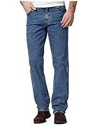Felicity Stylish Regular Pack Of 2 Comfortable Jeans For Men-Denim Blue/Dark Blue(Size-28)
