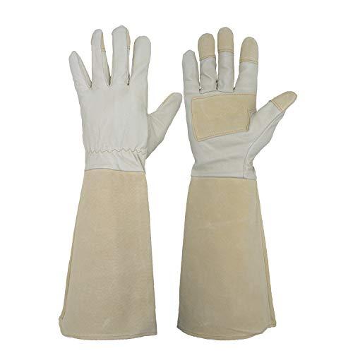 Handlandy largo guantes jardinería hombres mujeres