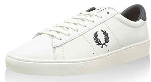 Fred Perry - Fp Spencer, - Unisex – Adulto Porcelain/Navy
