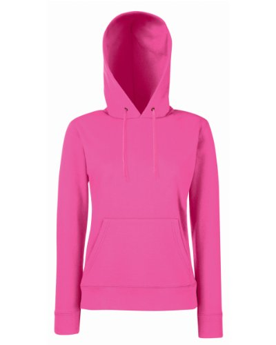 Fruit of the Loom - Sweat à capuche - Femme x-large Rose - Fuchsia
