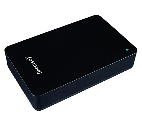 "Intenso Memory Center - Disco duro externo de 4 TB (3.5"", 12 V, USB 3.0), negro"