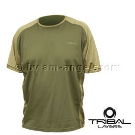 Shimano Tribal LAYER Short T-Shirt Gr. L