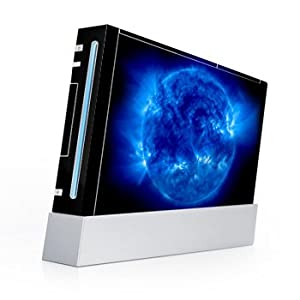 Nintendo Wii – Designerskin – Blue Giant