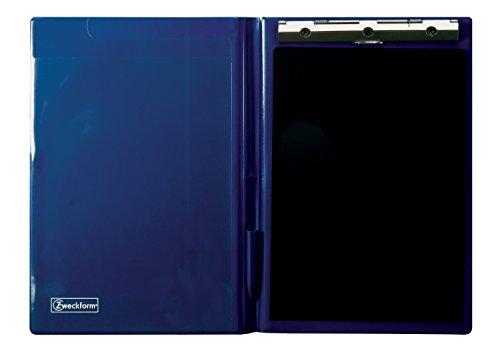 Avery Zweckform Klemm-Mappe (A4, aus PVC-Folie, für Schnelltrennsätze) blau