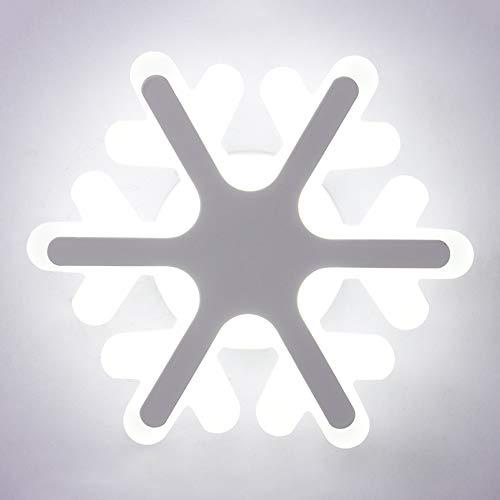 Chambre d'enfant chambre lampe de chevet créatif personnalité de bande dessinée petit flocon de neige garçon et fille décoratif lampe de suspension 26W