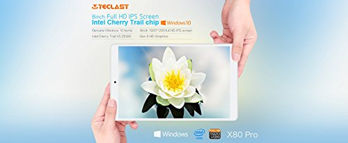 Teclast X80 Pro - Tablet PC Intel Cherry Trail X5