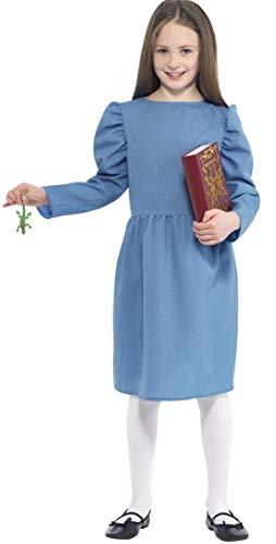 Fancy Me Roald Dahl Matilda Mädchen Kostüm, mit Zubehör, - Roald Dahl Matilda Kostüm