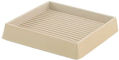 SHEPHERD HDWE. PROD, LLC. - 2-Pack 3-Inch White Square Furniture Cup