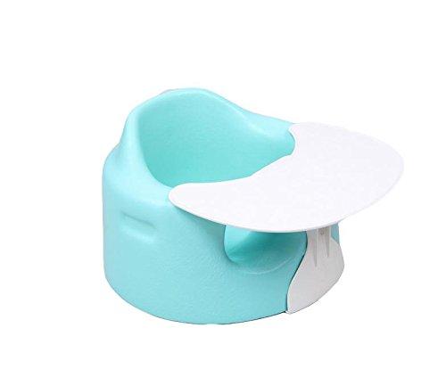 HJXJXJX Multi-colore opzionale 1.8kg portatile ecologico non tossico Pu Materiale del bambino che pranza sedia , blue