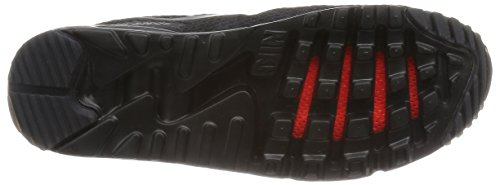 Nike Air Max 90 Ultra BR, Baskets Basses Homme, Bleu, EU Noir (Black (Noir / Black-Black-Ttl Crimson))